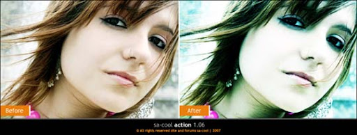 sa cool action 1 06 by sa cool The Ultimate Collection Of 500+ Useful Free Photoshop Actions