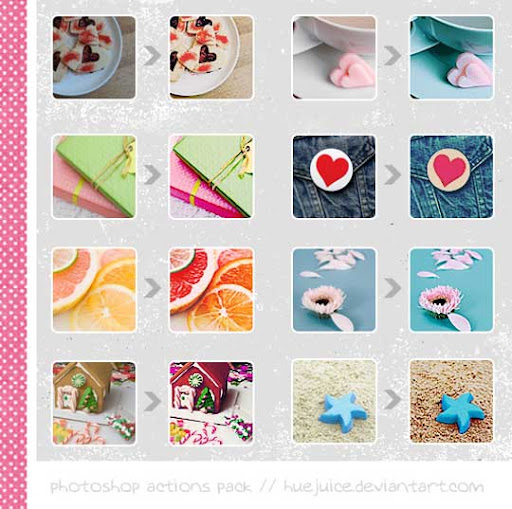 Photoshop Actions Pack by huejuice The Ultimate Collection Of 500+ Useful Free Photoshop Actions