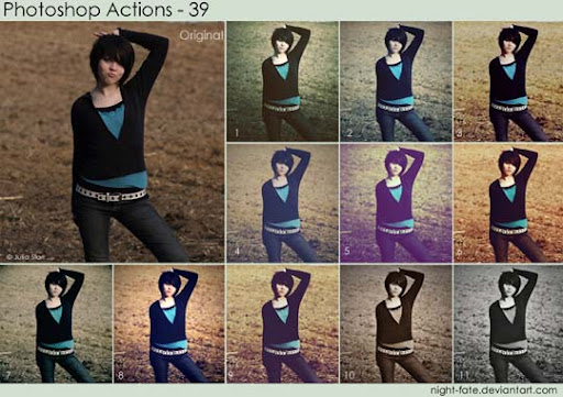 photoshop actions   39 by night fate The Ultimate Collection Of 500+ Useful Free Photoshop Actions