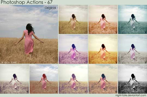photoshop actions   67 by night fate The Ultimate Collection Of 500+ Useful Free Photoshop Actions