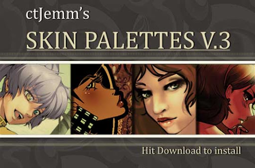 Skin Palettes V 3   Download by ctJemm The Ultimate Collection Of 500+ Useful Free Photoshop Actions