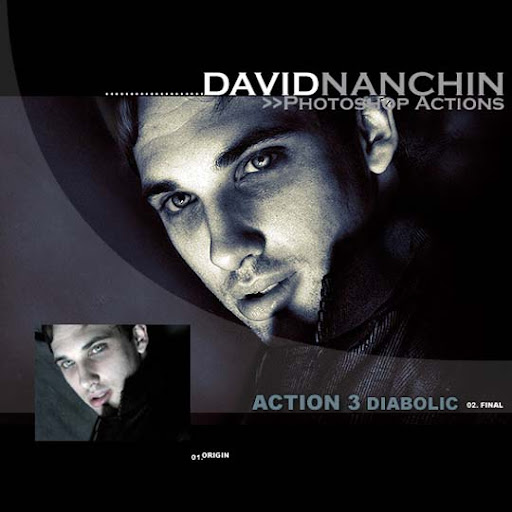 Photoshop Action  Diabolic by davidnanchin The Ultimate Collection Of 500+ Useful Free Photoshop Actions
