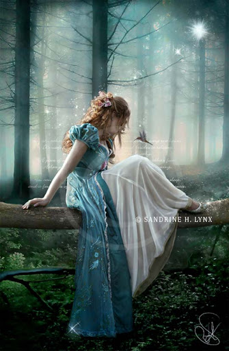 princess+giselle 40 Examples of Emotional Female Photomanipulation Art