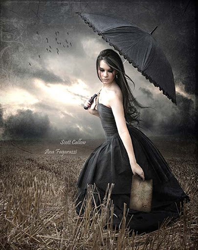 tears+in+the+wind 40 Examples of Emotional Female Photomanipulation Art