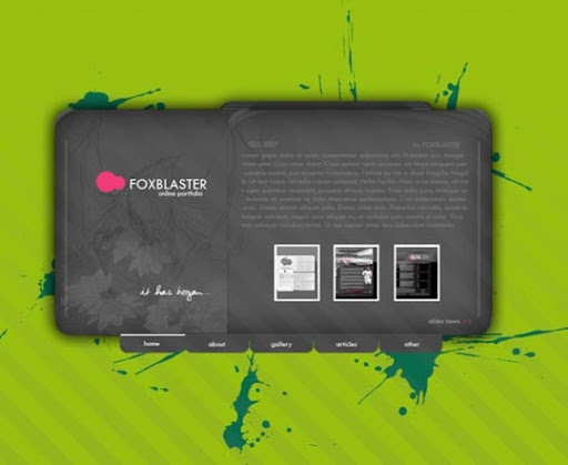 My+portfolio+v3 40 Gorgeous Portfolio Web Interface Designs You Must See