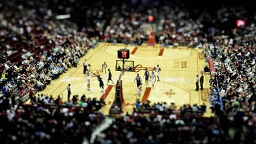 Basketball+Fake+Miniature 50+ Beautiful Examples of Tilt Shift Photography