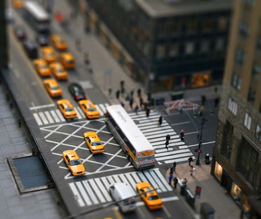 New+York+Model 50+ Beautiful Examples of Tilt Shift Photography