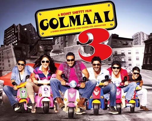 Golmaal 30+ Creative Bollywood Movie Posters | Design Inspiration