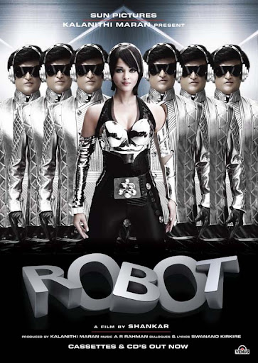 enhiran+robot 30+ Creative Bollywood Movie Posters | Design Inspiration
