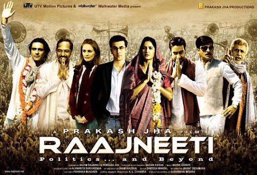 Raajneeti 30+ Creative Bollywood Movie Posters | Design Inspiration