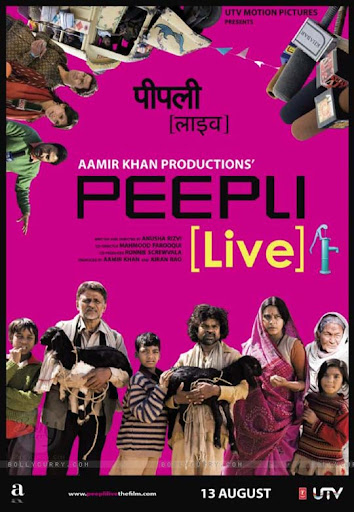 Peepli+Live 30+ Creative Bollywood Movie Posters | Design Inspiration