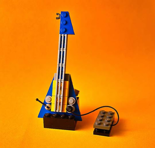 Lego+Guitar 50 Incredibly Creative LEGO Creations