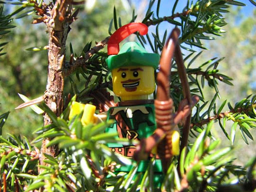 Forestman+in+the+Trees 50 Incredibly Creative LEGO Creations