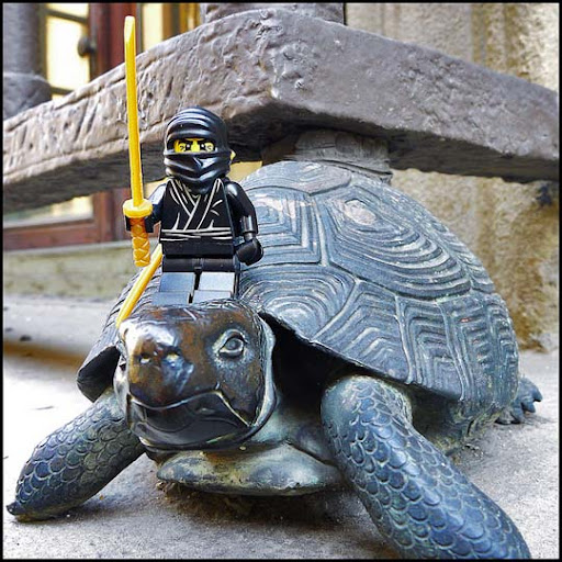 Ninja+Turtle+ +Nothing+Teenage+or+Mutant+about+it 50 Incredibly Creative LEGO Creations