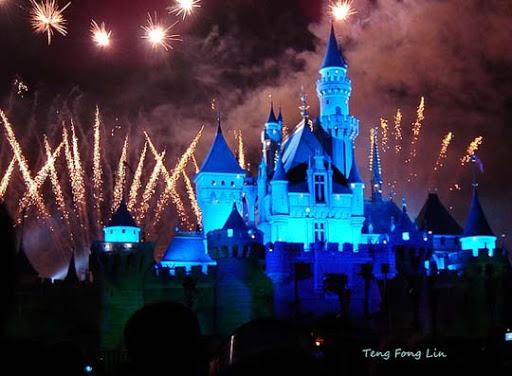Disney+at+night 60+ Jaw Dropping Examples of Fireworks Photography