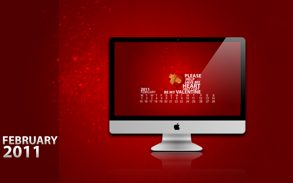 February+2011+Desktop+Calendar+Valentine%2527s+Day February 2011 Desktop Calendar Valentines Day Special