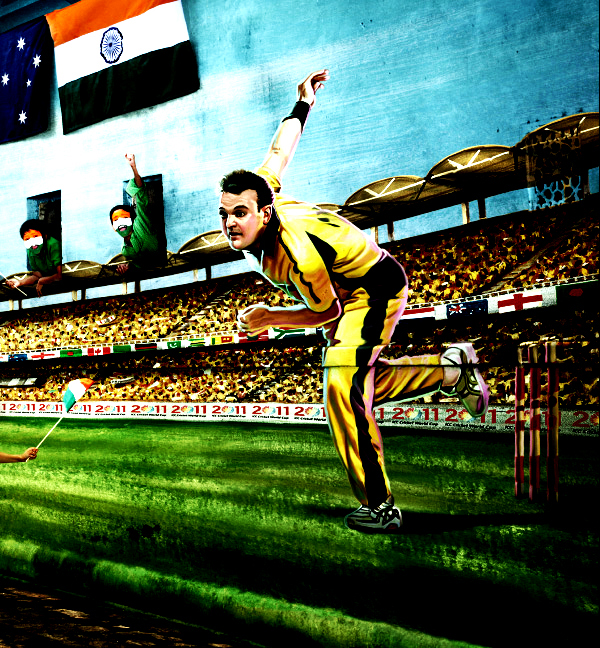 Australia+Cricket+World+Cup+2011 Official ICC Cricket Worldcup 2011 Print Advertisements Posters
