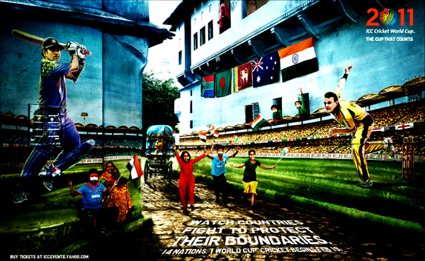 India+ICC+Cricket+2011+worldcup Official ICC Cricket Worldcup 2011 Print Advertisements Posters