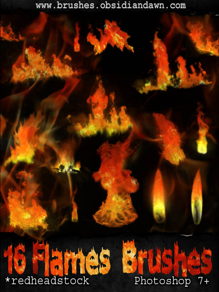 GIMP Flames Brushes by Project GimpBC 1500+ Free GIMP Brushes Packs for Download
