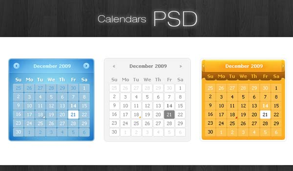 Free PSD Web UI Element