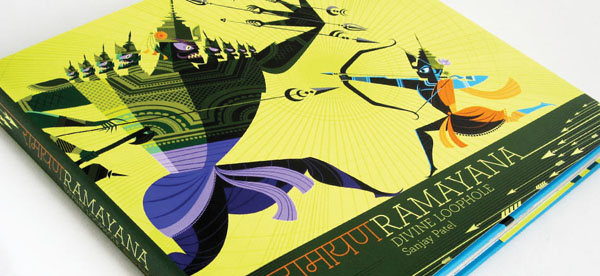 Ramayana+%25281%2529 Gorgeous Illustrations of Hindu Gods by Sanjay Patel of Pixar Studios