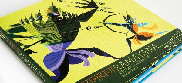 Ramayana+%25281%2529 Gorgeous Illustrations of Hindu Gods by Sanjay Patel of Pixar Studios