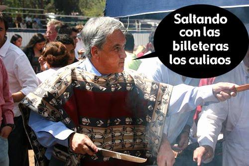 Caidas chascarros y estupideces de nuestro presi Piñera xD