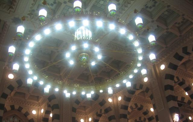 Lampu Masjid Nabawi - Madinnah