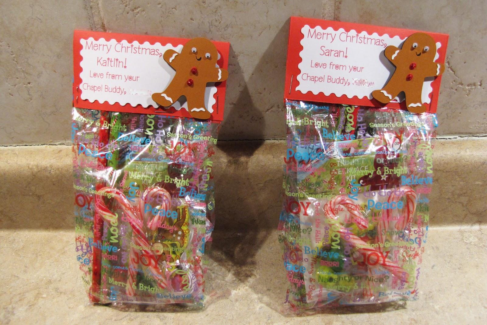 chapel buddy christmas treat bags