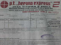 Pengiriman Burung Keluar Kota Via Herona Express (klik foto)