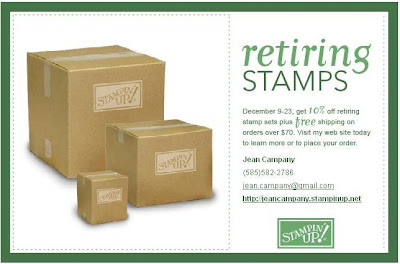 stampin up retirement list sale free shipping