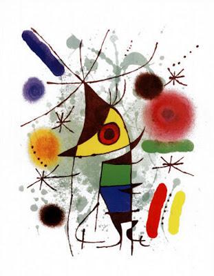 Le Chanteur, også kjent som den syngende fisken - Joan Miró (1893–1983)