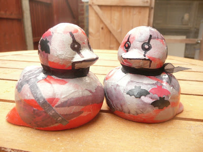 Carmen Wing - Whoopidooings - Altered Rubber Ducks