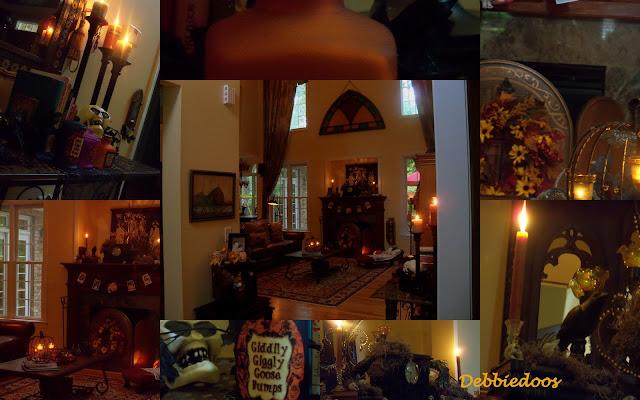 living+room Carolina Country rustic home tour