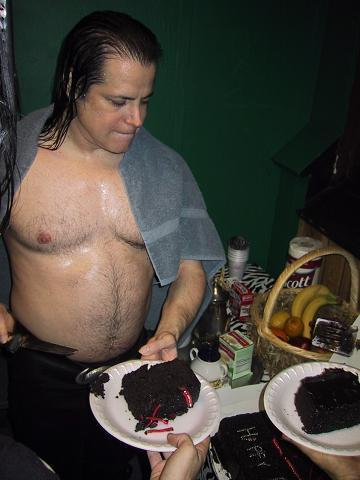 Glenn Danzig Cake