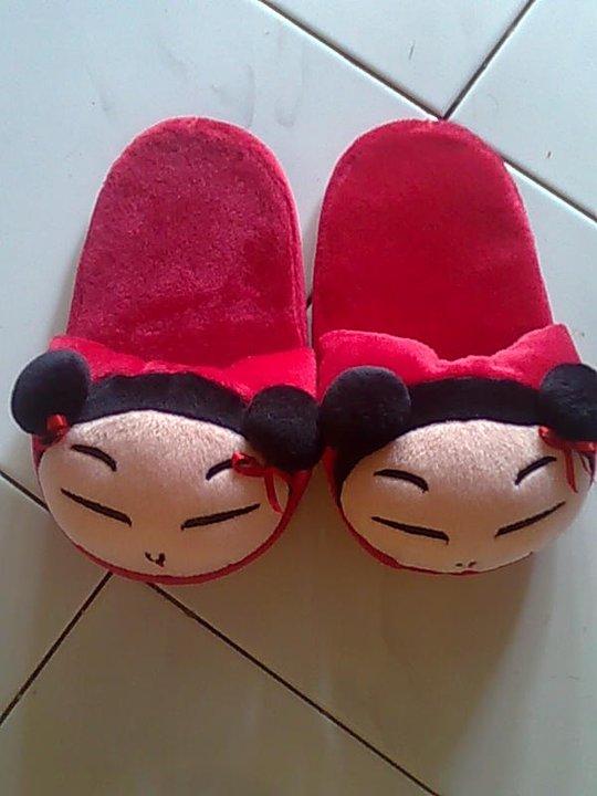 Sandal ukuran M: 25cm, harga Rp.30000