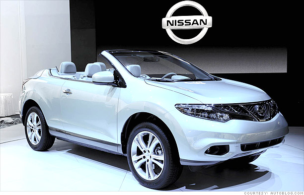 Have You Seen A Nissan Murano Crosscabriolet On The Road
