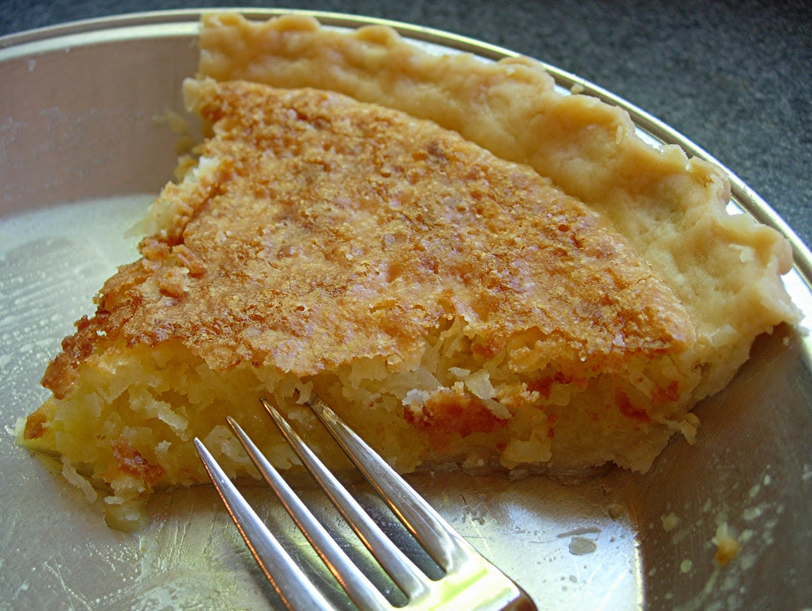 Tierney Tavern: Coconut Custard Pie