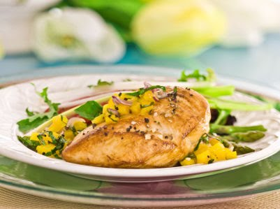 Boneless chicken breasts continue to balloon in size, from what was a standard 5 to 6 ounces each to nearly 8 ounces. While the meat is lean, that extra weight adds up: A 6-ounce breast has calories and 4 grams of fat; an 8-ounce breast has calories and 5 grams of fat.