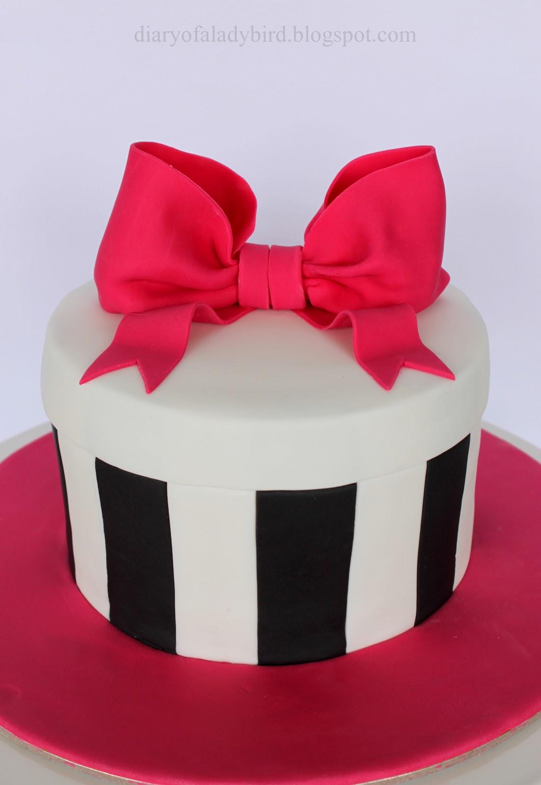 Diary Of A Ladybird Jacquis Birthday Cake