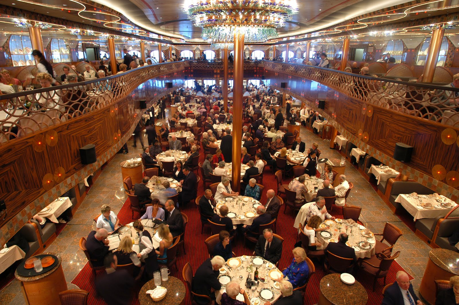 Carnival Conquest Dining Room Dress Code
