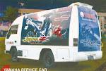 YAMAHA SERVICE CAR