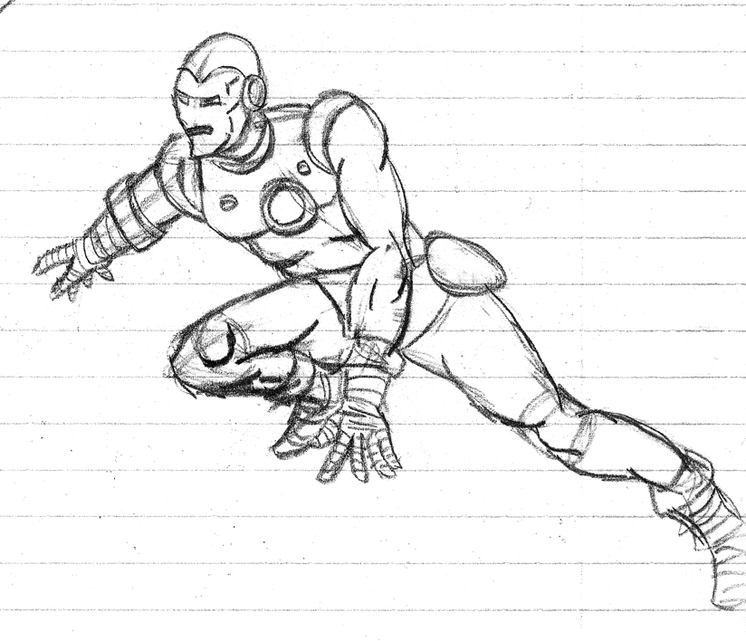 Cool super hero drawings pictures to pin on pinterest for Super cool drawings