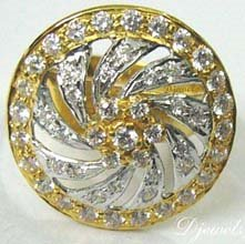 Diamond Ladies Ring,