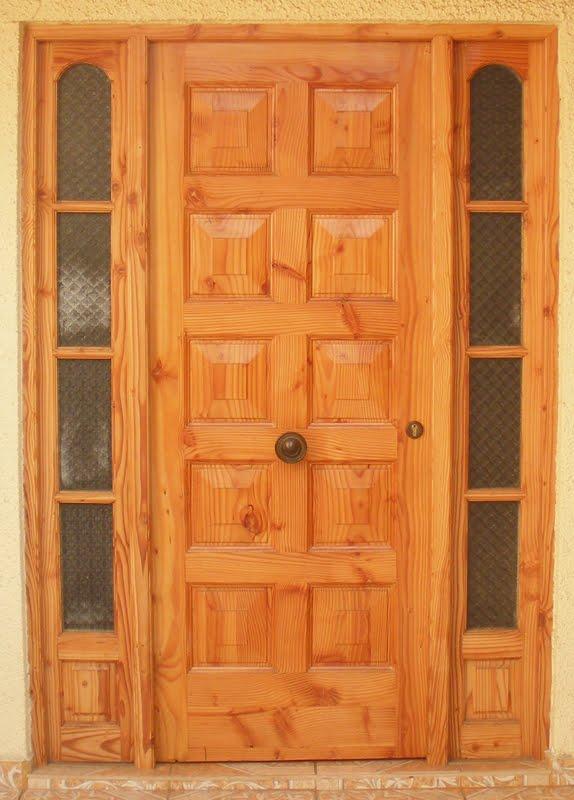 Maderas marabu puertas de acceso exteriores - Puertas de exteriores ...
