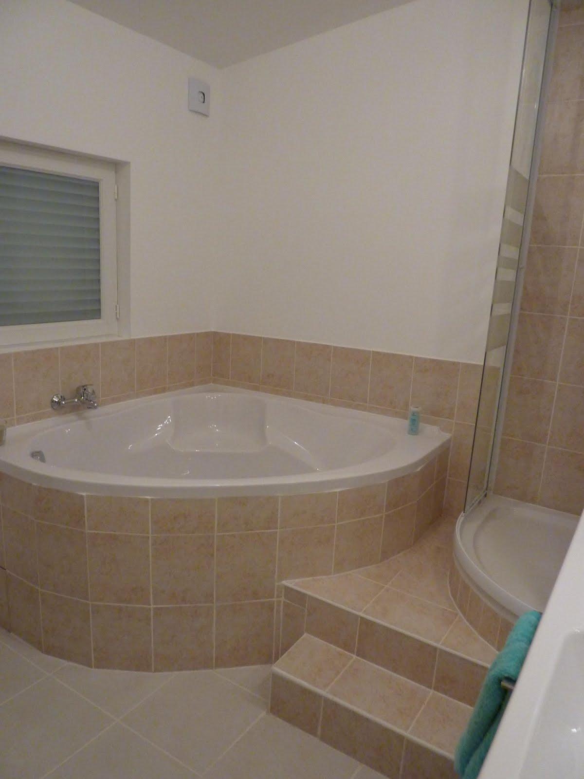 salle de bain avec douche et baignoire. Black Bedroom Furniture Sets. Home Design Ideas