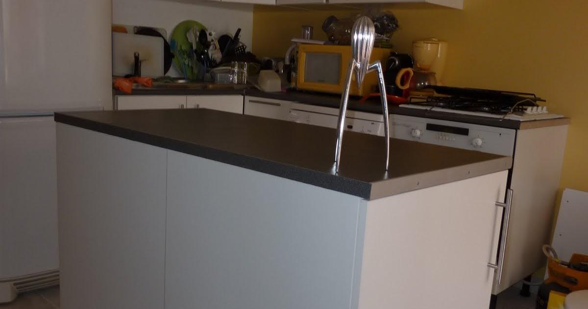 Deco Salon Moderne Et Zen : Initiales GGFabriquez un îlot central pour votre cuisine !