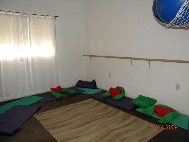 Espacio corporal, esferodinamia, yoga, reuniones de embarzadas, mamás y familias