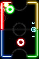 Glow Hockey FREE