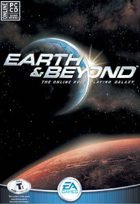Welcome to Earth & Beyond, the first online role-playing galaxy. It's your turn to pilot your own starship, adventure in a massive galaxy, and take part in a thriving community. Alien encounters, fierce combat, cutthroat commerce, new discoveries, perilous quests, strategic alliances, diplomatic backstabbing, and epic wars await you and the friends you meet online.
